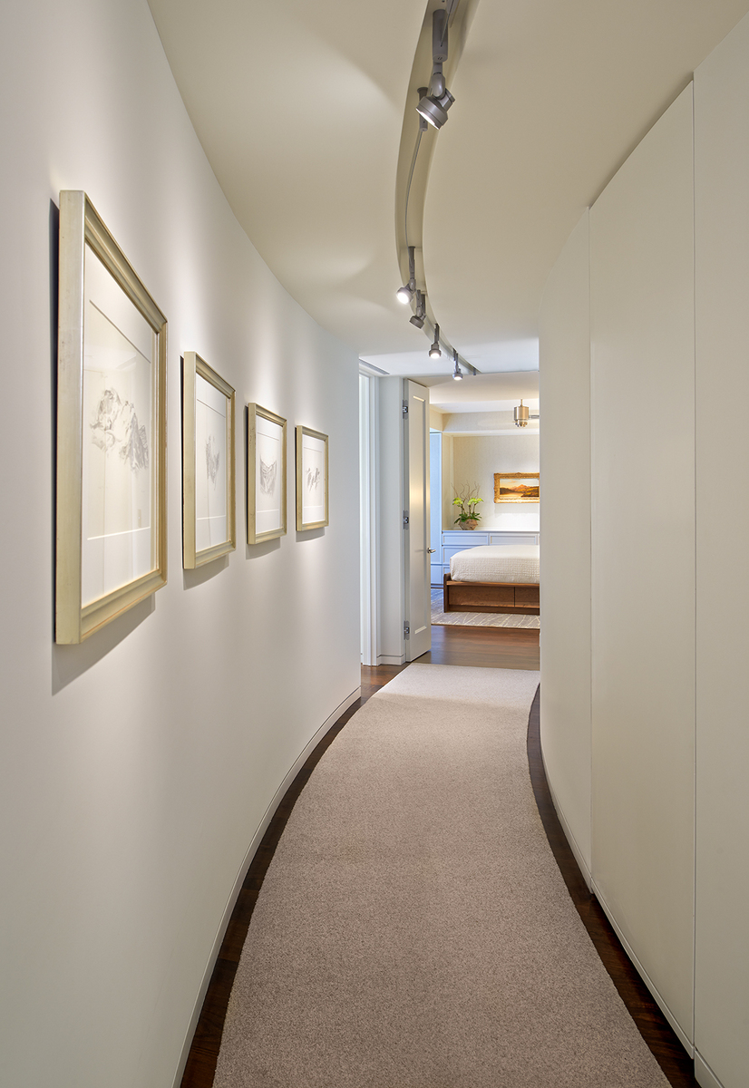 Penthouse Hallway to Master Bedroom