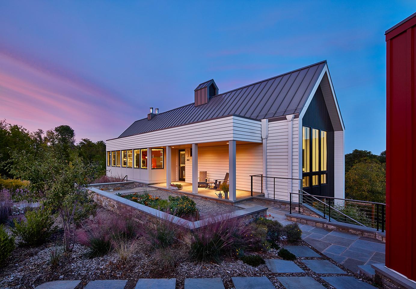 New House Design Photos: Modern Retreat In A Rural Hamlet : WIEDEMANN ARCHITECTS