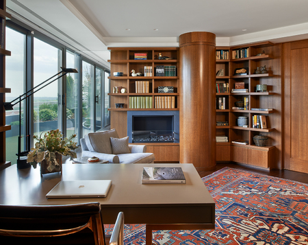 Penthouse with a View Library